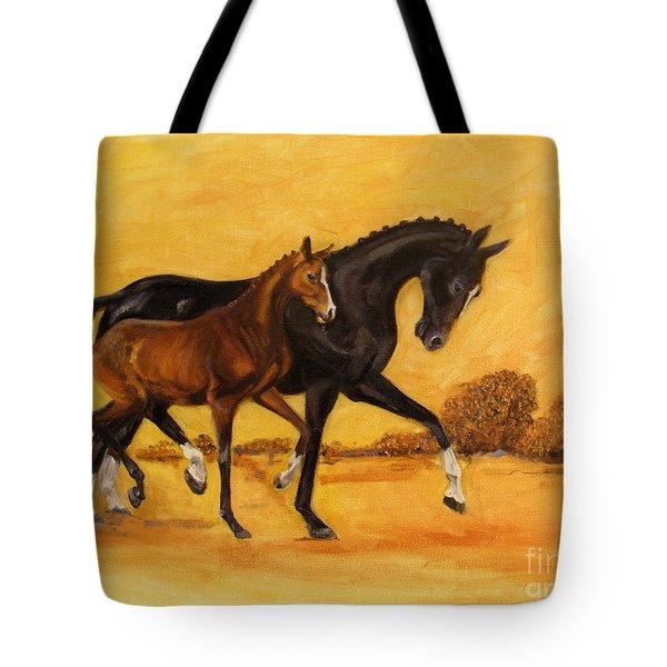 Horse - Together 2 Tote Bag