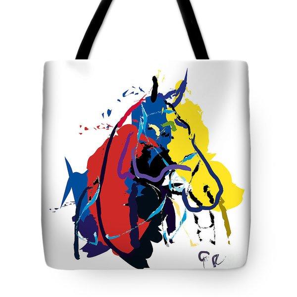 Horse- Zam Tote Bag