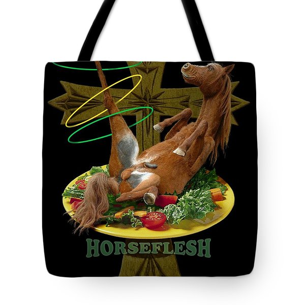 Horseflesh Tote Bag