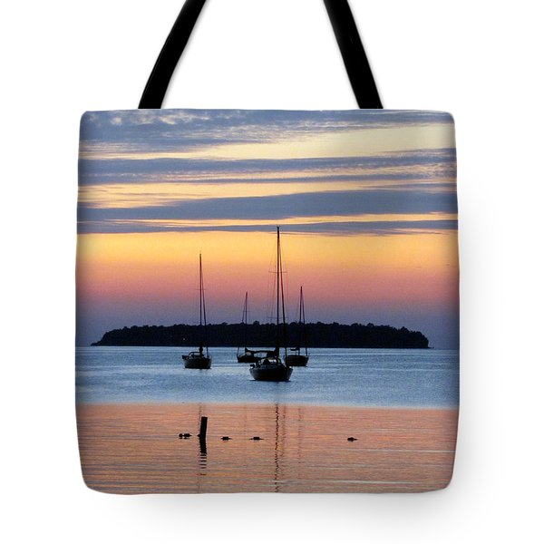 Horsehoe Island Sunset Tote Bag