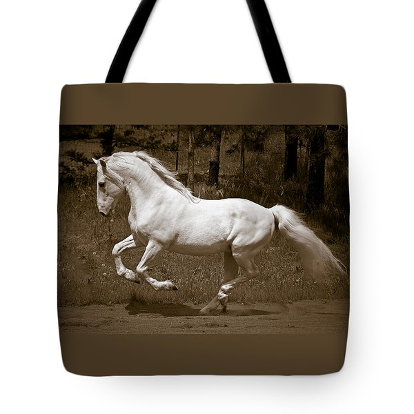 Tote Bag featuring the photograph Horsepower D5779 by Wes and Dotty Weber