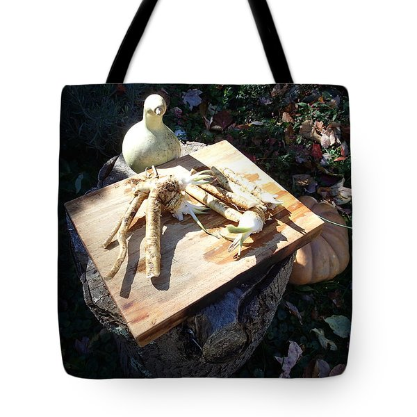Horseradish In The Fall Tote Bag