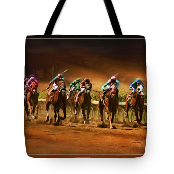 Horse's 7 At The End Tote Bag