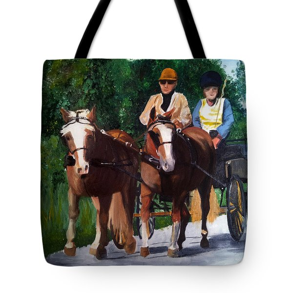 Sunday Afternoon Drive Tote Bag