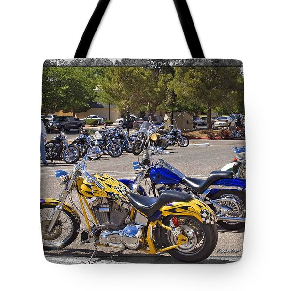 Horses Of Iron24 Tote Bag