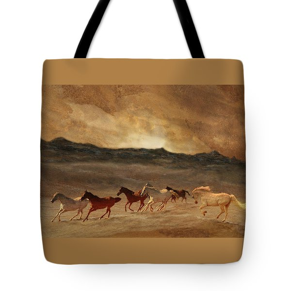 Horses Of Stone Tote Bag