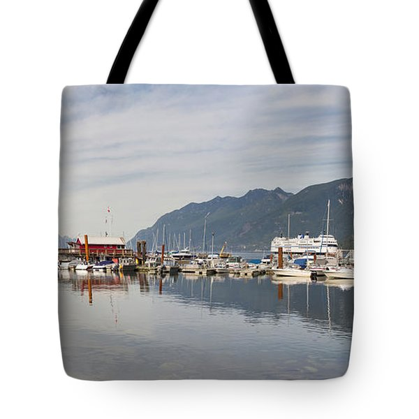 Tote Bag featuring the photograph Horseshoe Bay Vancouver Bc Canada by JPLDesigns