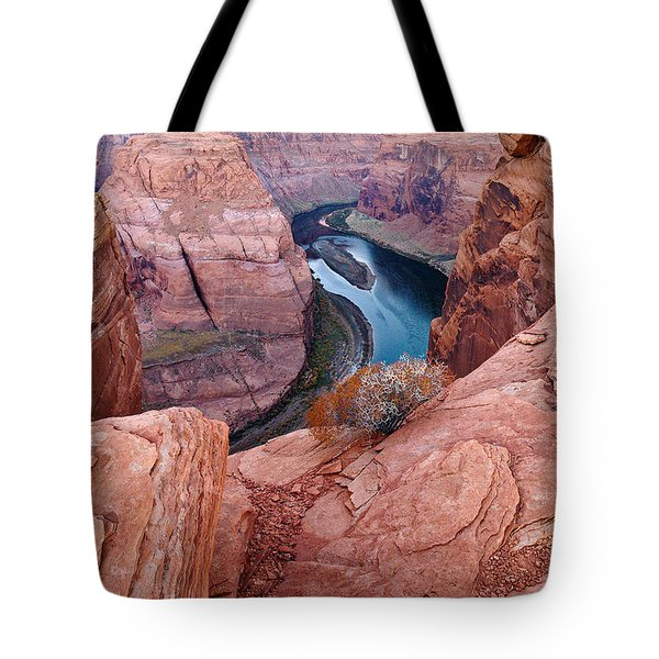 Tote Bag featuring the photograph Horseshoe Bend At Dawn by Mae Wertz