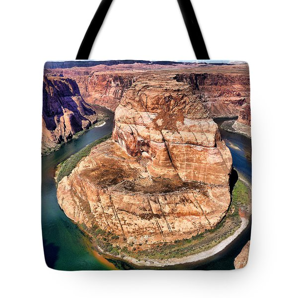 Horseshoe Bend In Arizona Tote Bag