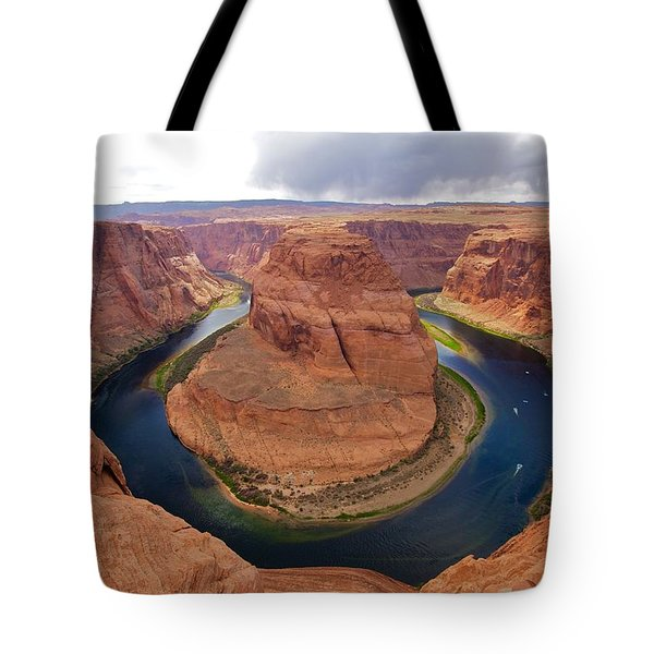 Horseshoe Bend View 1 Tote Bag