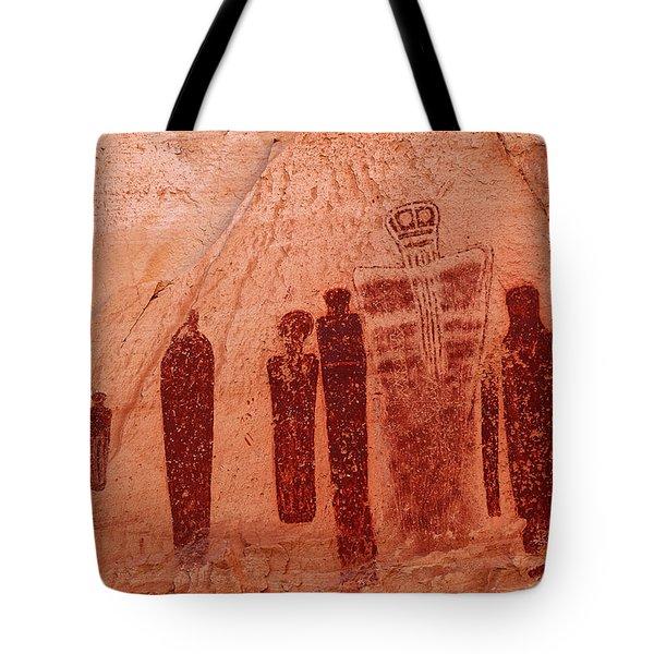 Horseshoe Canyon Pictographs Tote Bag