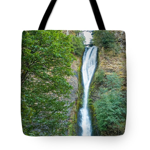Horsetail Falls Tote Bag by John M Bailey