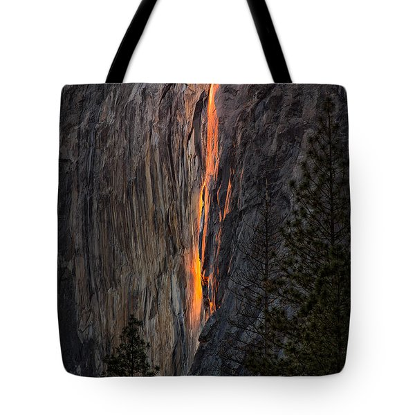 Horsetail Falls Tote Bag