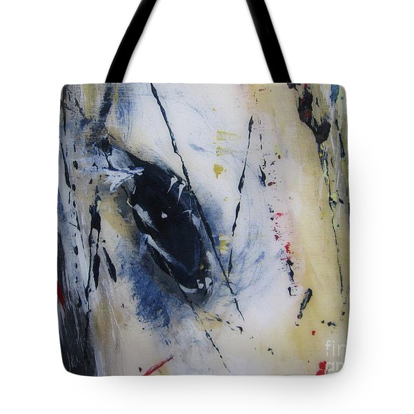 Horsing Around Tote Bag by Lucy Matta
