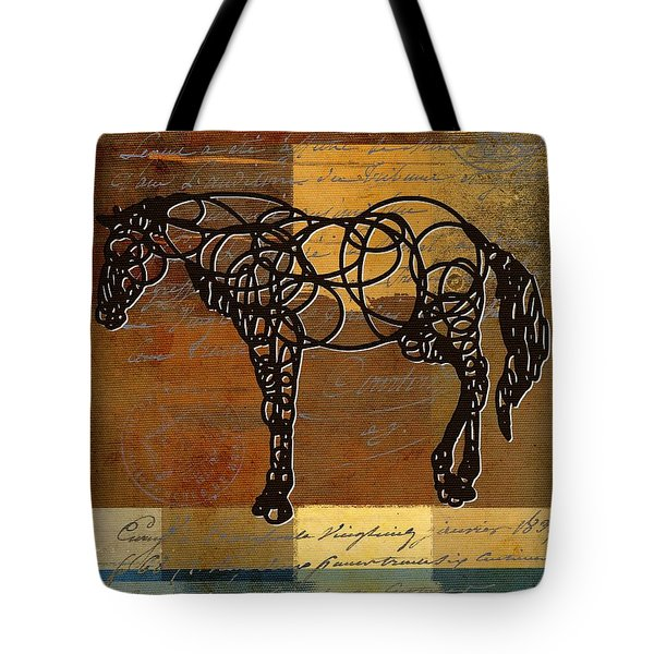 Horso - 70s01br02t Tote Bag by Variance Collections