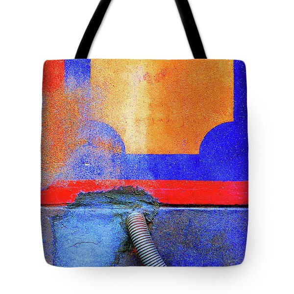 Tote Bag featuring the photograph Hosed by Newel Hunter