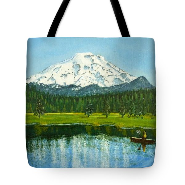 Hosmer Lake Tote Bag