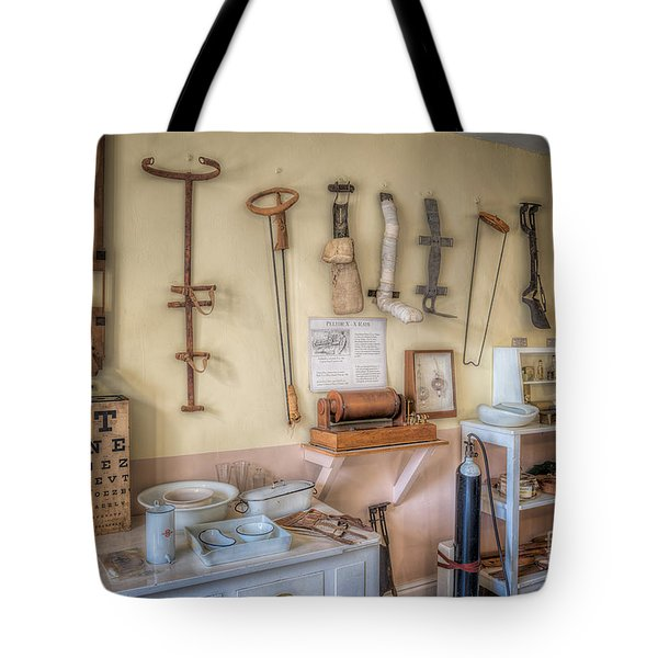 Hospital Museum Tote Bag by Adrian Evans