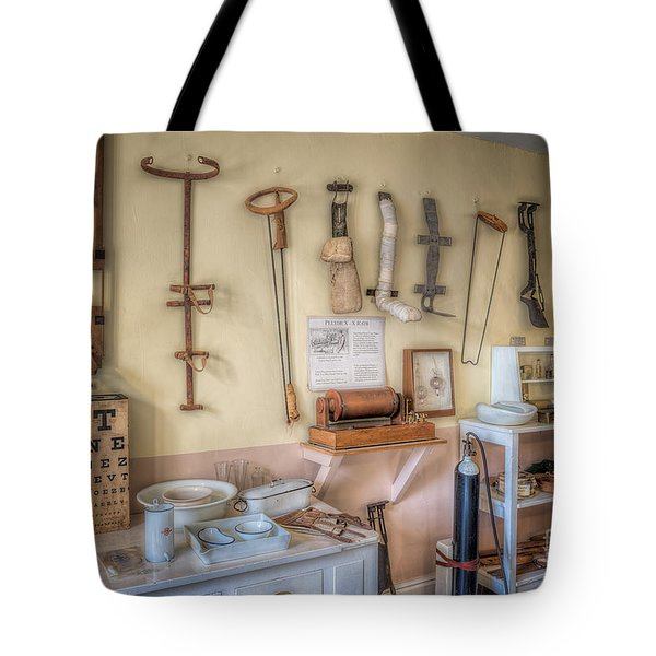 Tote Bag featuring the photograph Hospital Museum by Adrian Evans