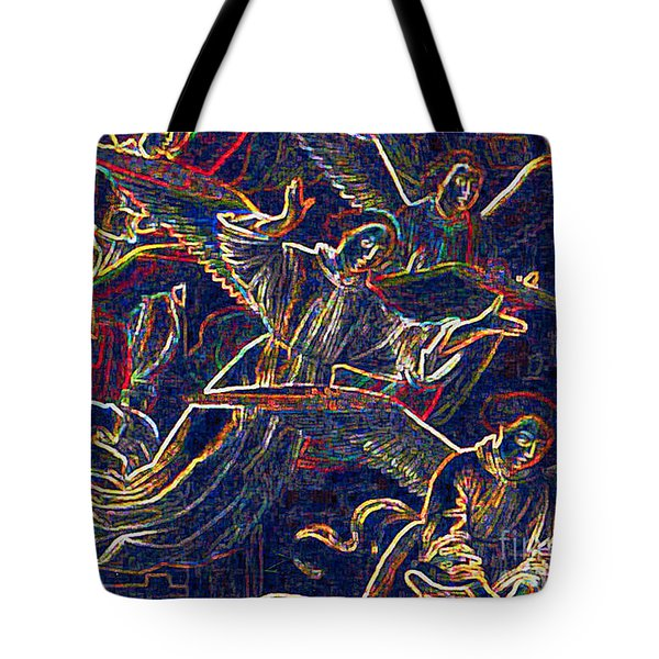 Host Of Angels By Jrr Tote Bag by First Star Art