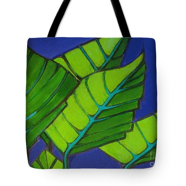 Hosta Blue Tip One Tote Bag