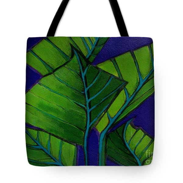 Hosta Blue Tip Two Tote Bag