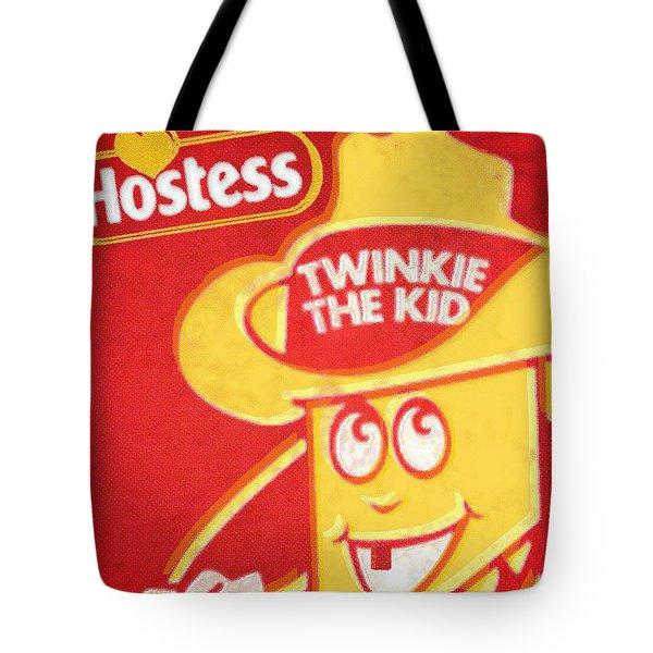 Hostess Twinkie The Kid Tote Bag by Tony Rubino