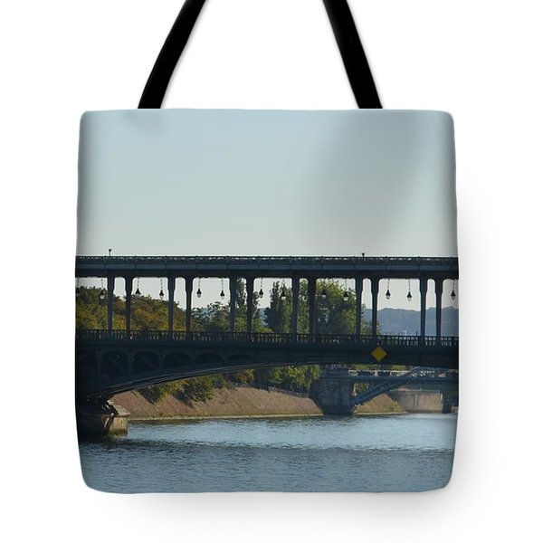 Hot Air Balloon In Paris Tote Bag