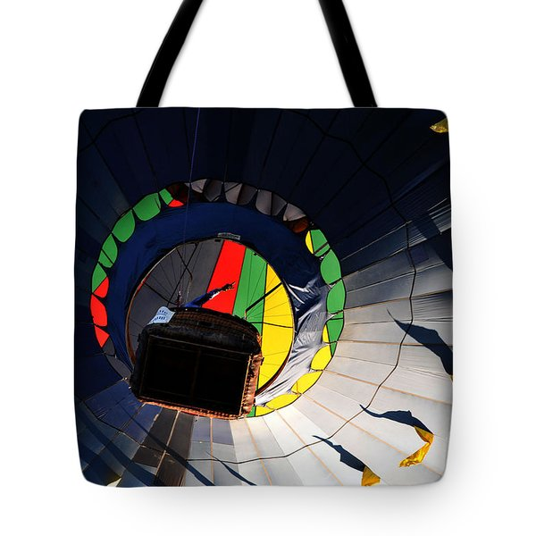 Hot Air Up Tote Bag by Leon Hollins III