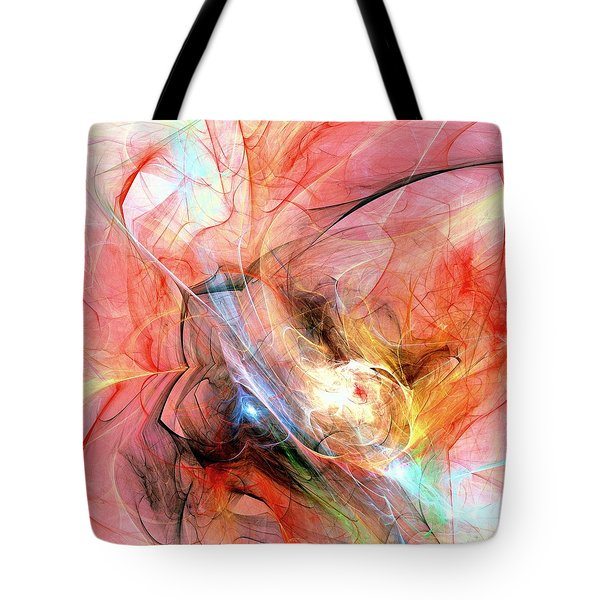 Hot Tote Bag by Anastasiya Malakhova