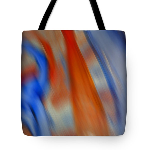 Hot And Cold Mixing Tote Bag by Greg Kluempers
