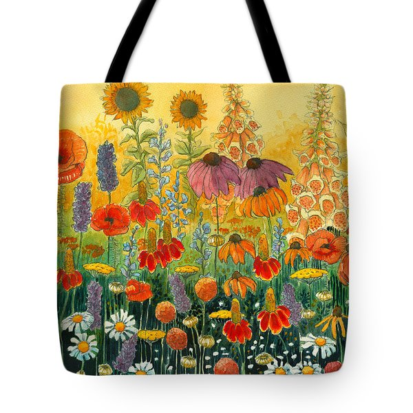 Hot And Hazy Tote Bag by Katherine Miller