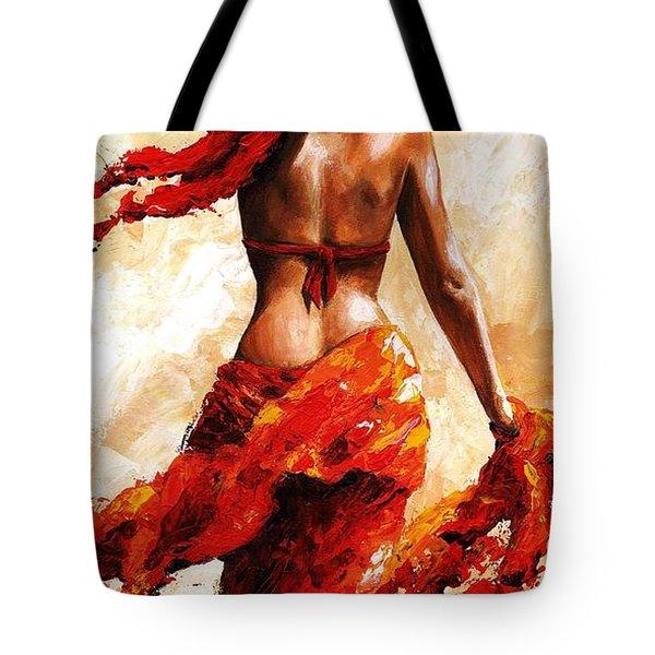 Hot Breeze #02 Tote Bag