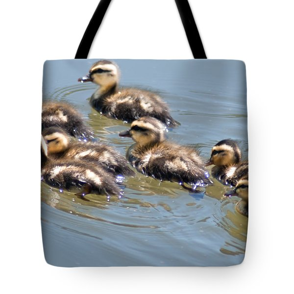 Hot Chicks Out For A Swim Tote Bag by Optical Playground By MP Ray