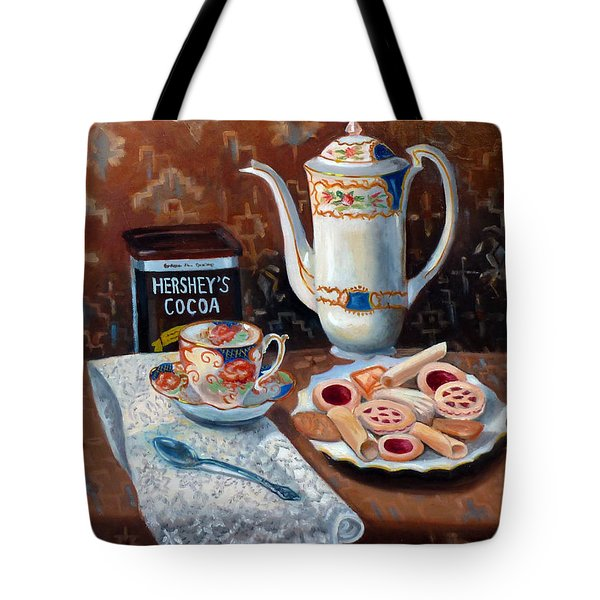 Hot Chocolate Pot Tote Bag