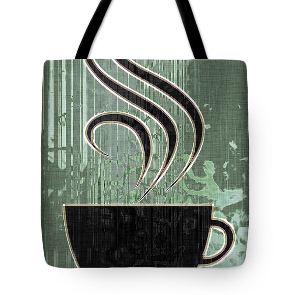 Hot Coffee Tote Bag by David G Paul