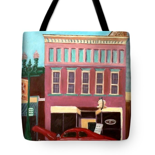 Hot Coffee Tote Bag by Stacy C Bottoms