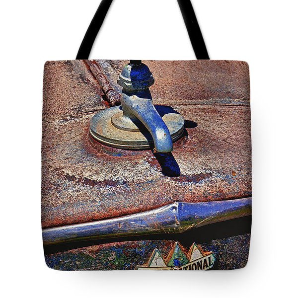 Hot Faucet Hood Ornament Tote Bag