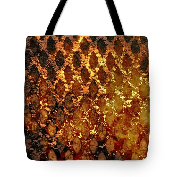 Tote Bag featuring the digital art Hot Grill by Darla Wood