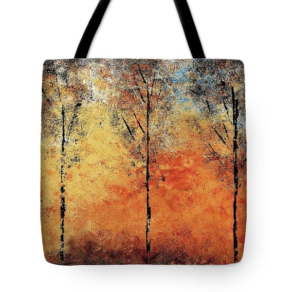 Hot Hillside Tote Bag