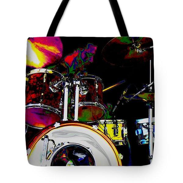 Hot Licks Drummer Tote Bag