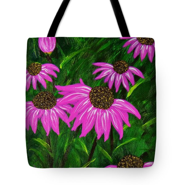 Hot Pink Jungle Tote Bag