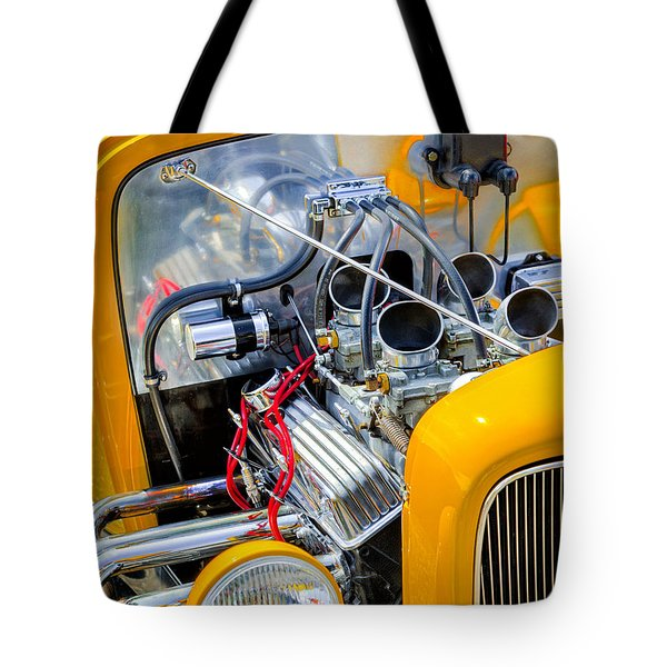 Hot Rod Tote Bag by Bill Wakeley