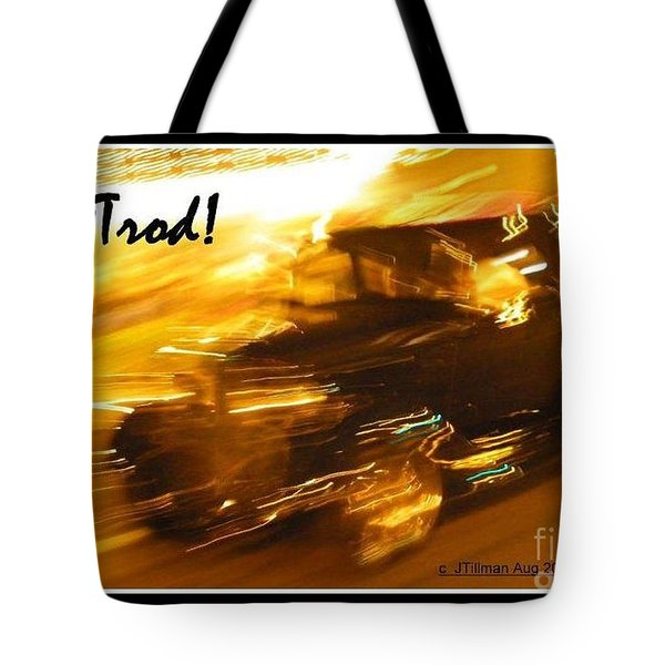 Tote Bag featuring the photograph Hot Rod by Jim Tillman