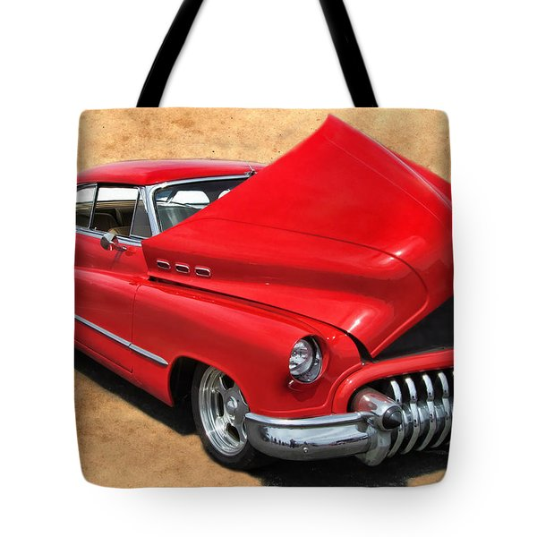 Hot Rod Buick Tote Bag