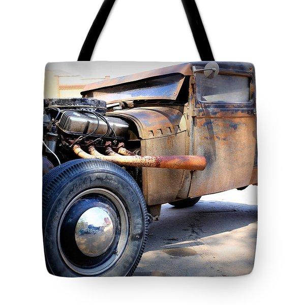 Hot Rod Tote Bag by Lynn Sprowl