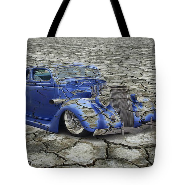 Hot Rod Mirage Tote Bag by Steve McKinzie