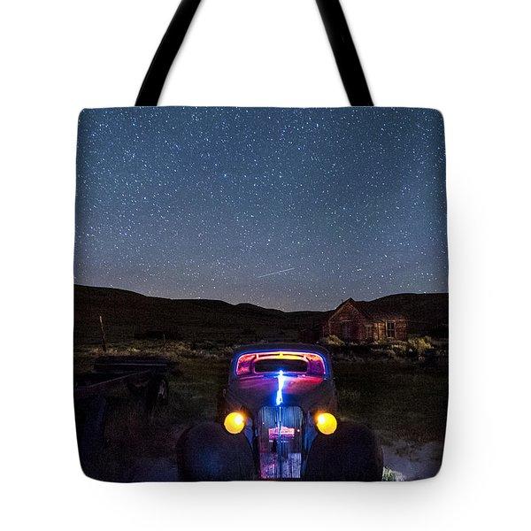 Hot Rod Nights Tote Bag
