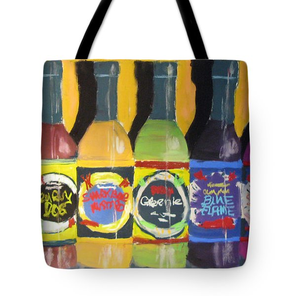 Hot Shelf Tote Bag