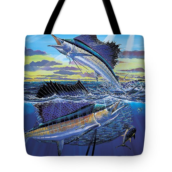 Hot Spot Off0073 Tote Bag by Carey Chen